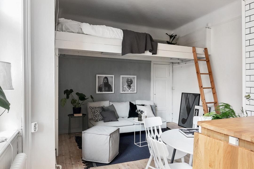 Как можно стиль обустроить второй этаж в квартире