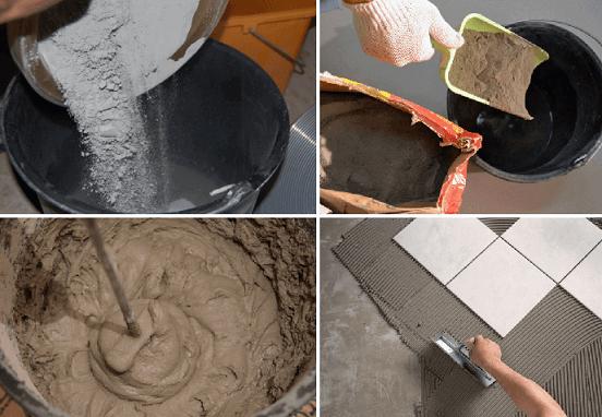 Как правильно подобрать клей и раствор для плитки для ванной