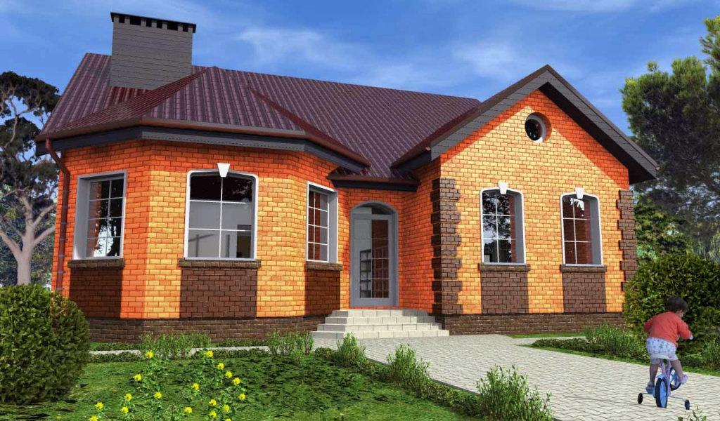 Частные дома из кирпича. Особенности и преимущества строительного материала