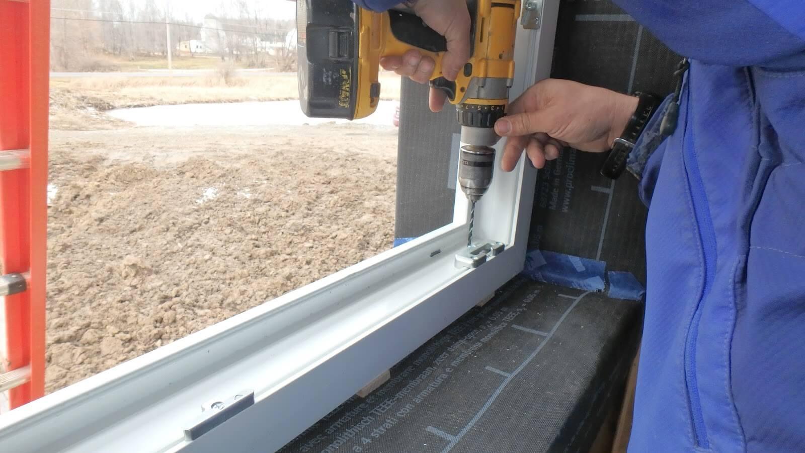 Как самостоятельно установить окна ПВХ