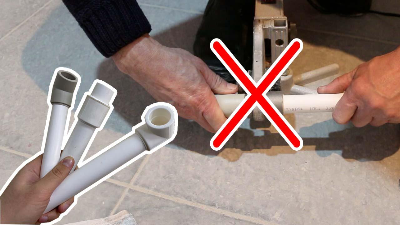 Распространенные ошибки при сварке полипропиленовых труб