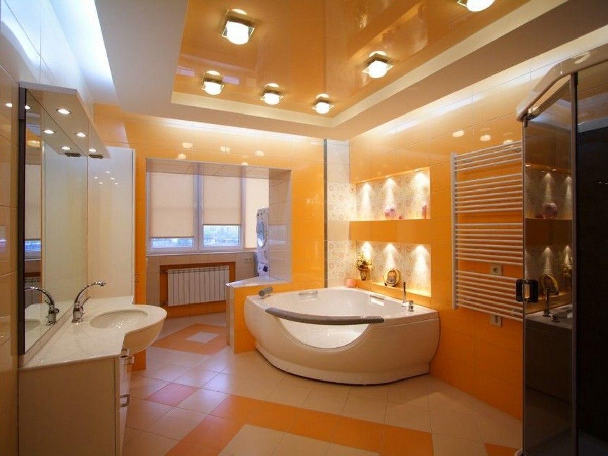 Какой потолок лучше выбрать для ванной комнаты