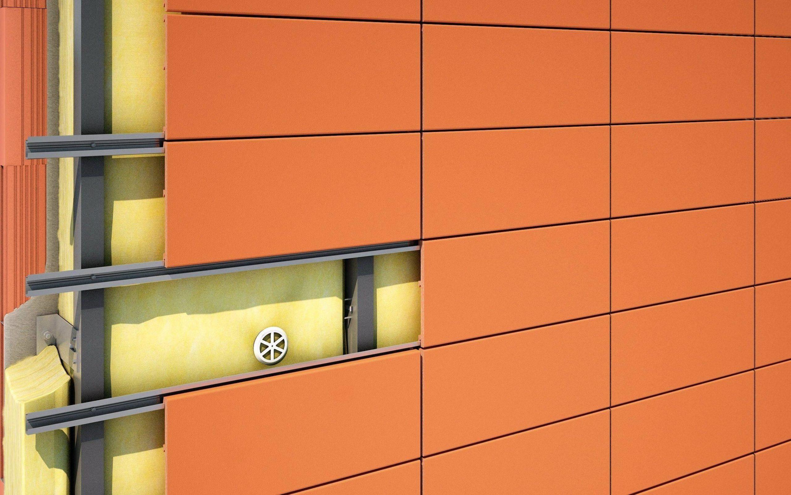 Материалы для облицовки вентилируемых фасадов