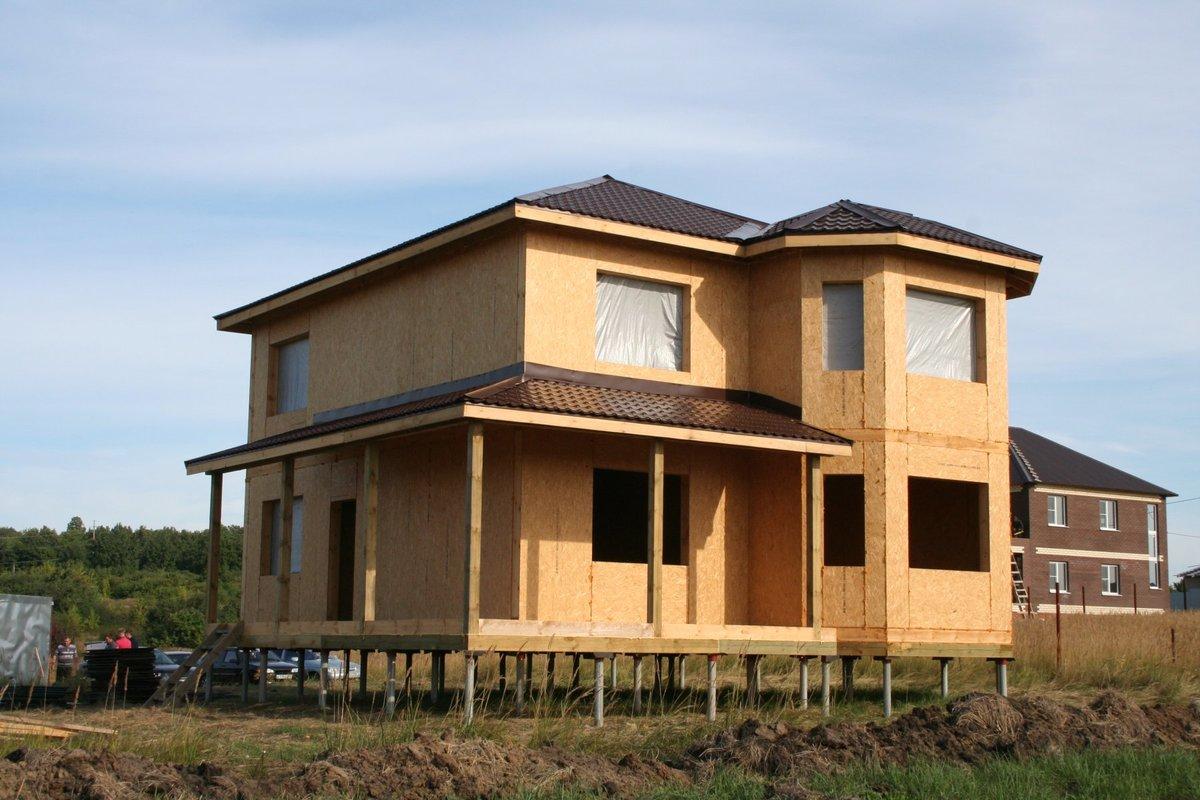 Деревянные дома из СИП-панелей