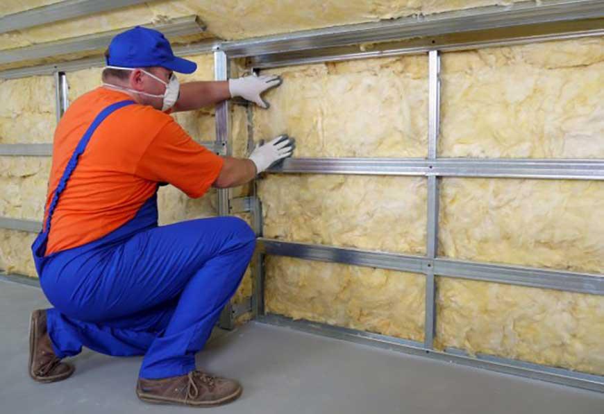 Подготовка стен к укладке теплоизолятора