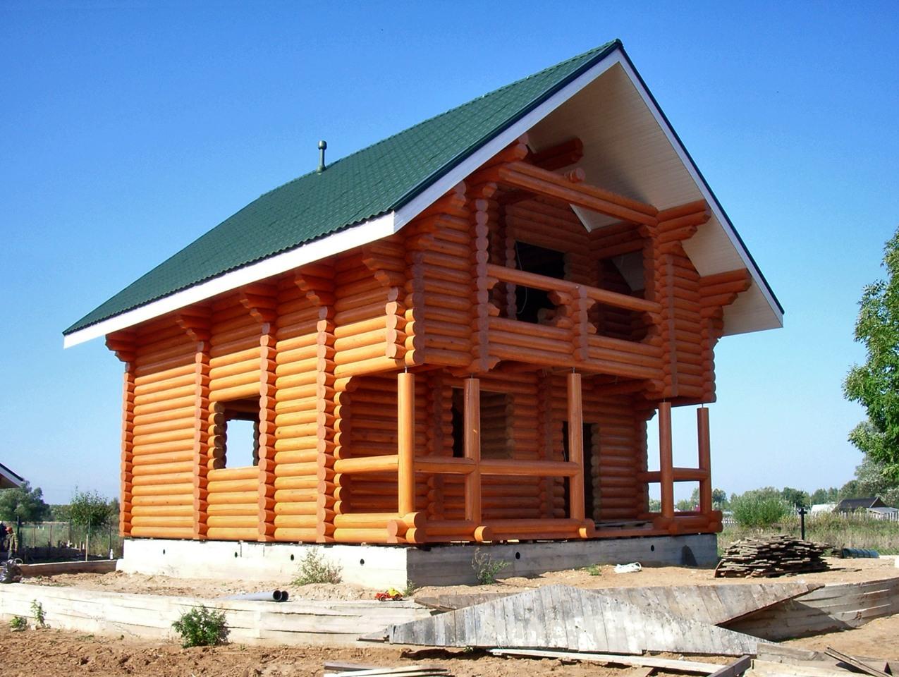 Строительство готового дома