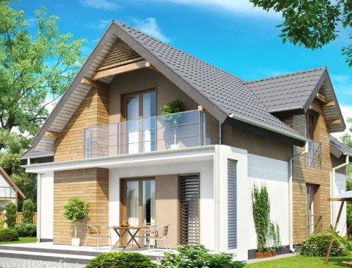 Постройка балкона в частном доме